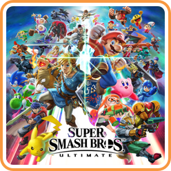 Smash Bros Ultimate Digital Box Art