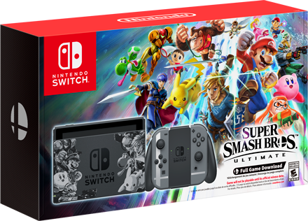 Nintendo Switch Super Smash Bros. Ultimate Set